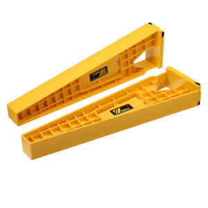 Wnew 2pcs Drawer Slide Jig Set Drawer Slide Mounting Tool Woodworking Tool