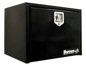 Buyers Products 1703349 12x14x18 Black Steel Underbody Truck Box