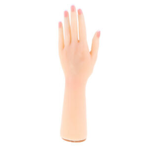 1 1 Realistic Female Silicon Hand Mannequin Model Jewelry Ring Display left