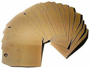 100 Tags Of Kraft Combination Necklace And Earring Display Card With Riveted