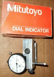 Mitutoyo 2416f Indicator W mounting Bracket To Fit A 9 0r 10 South Bend 0r