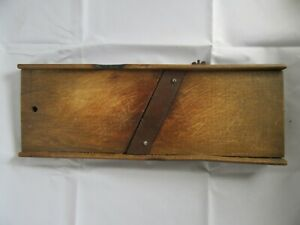 Antique Primitive Wood Cabbage Slaw Cutter Board Great Old Look 16 5