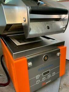 Electrolux Hsppme Commercial High Speed Infrared Panini Grill melt