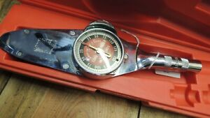Snap On Te12a Torqometer 3 8 Drive Torque Wrench W Case 120846