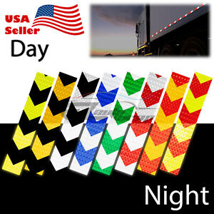 Dot c2 Conspicuity Arrow Reflective Tape 1 Foot stripe Safety Warning Trailer Rv
