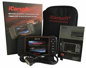 Bcc Ii Icarsoft Chrysler Jeep Gm Chevrolet Cadillac Obd2 Diagnostic Scan Tool