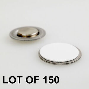 Round Magnet With Adhesive For Name Badges Tags Lapel Pin Lot Of 150 rm01 150