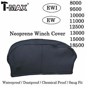 T Max Winch Neoprene Cover 6000 8000 9000 11000 12500 15000 18500lb Xl 04