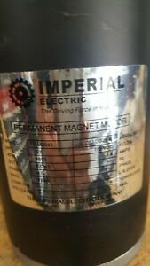 33 Hp Used Imperial Electric Permanent Magnet Motor Model Sm0041 Low Hours