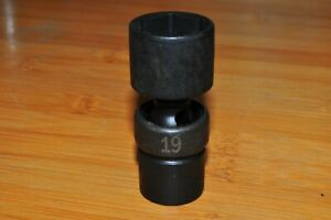 Sk 33369 3 8 Drive 6 Point Swivel Impact Socket 19mm Made In Usa