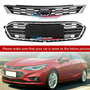 Front Upper Grill Middle Lower Grille For Chevrolet Cruze 2016 2017 2018 Us