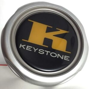 1 Keystone Wheels Silver Center Cap Cover Hubcap P N Bc 507