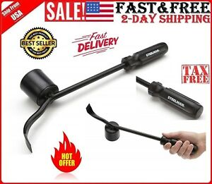 Steelman Tire Changing Hand Tool Hubcap Remover Car Wheel Cover Hammer Crowbar