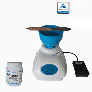 Dental Zoneray Alginate Stone foot Control Semi automatic Alginate Mixer Wb