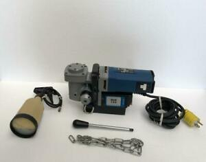 Bds Mab 150 Electric Magnet Drill Machine 1 3 8 35 Mm Capacity 115 Vac