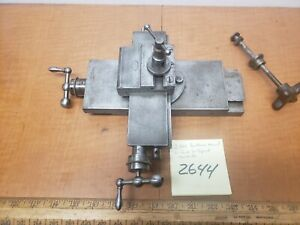 Watchmaker Lathe Compound Slide Antique American Watch Tool Co Patent Date 1875