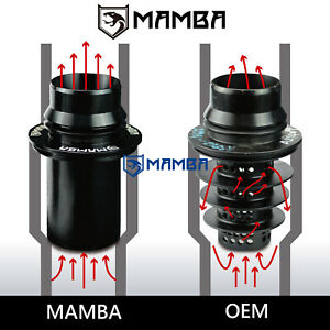 Mamba Billet For Mercedes Benz M270 M271 M274 Ihi Rhf4 Turbo Muffler Delete Kit