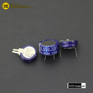 audiojade 0 22f 5 5v Kam C V H Type Double Layer Farad Best Super Capacitors