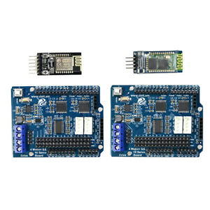 2x Arduino Control Kits Motor Drive Shield Board wifi Bluetooth Module