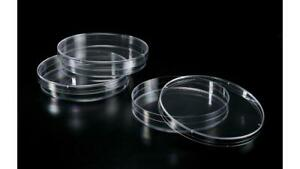 Extragene Petri Dishes 90x15mm Beveled Stacking Rings Sterile Clear