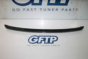 15 19 Subaru Wrx Sti Dgm Dark Gray Trunk Deck Lid Small Wing Spoiler Trim Oem 16