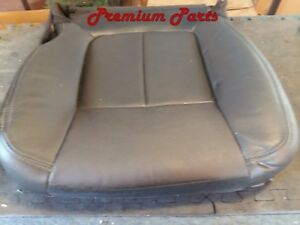 F150 Front Driver Left Side Seat Cushion Cover Black Leather