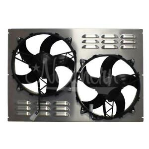 Northern Radiator Auxiliary Engine Cooling Fan Assembly Z40109 Dual Electric