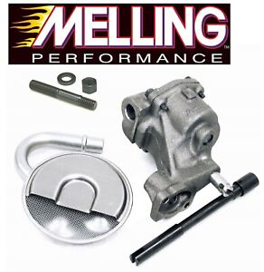 Melling M55 Oil Pump pickup Screen drive Shaft stud For Chevy Sbc 327 350 400