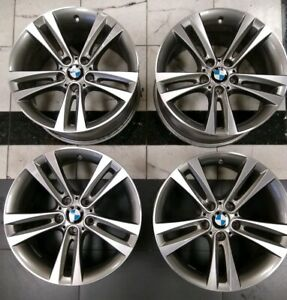 Bmw Oem F30 f36 3 And 4 Series 18 Style 397 Double Spoke Wheel Set 2013 Up