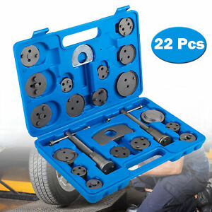 Heavy Duty Disc Brake Caliper Tool Set For Brake Pad Replacement 22pieces