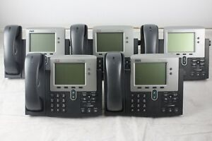 Lot Of 10 Cisco 7941 Ip Business Telephones cp 7941g