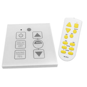 Ir Remote Control Touch Stepless Dimming 12 24v Led Pwm Dimmer black