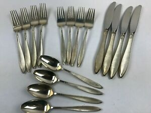 16 Pc Service For 4 Gossamer By Gorham Sterling Silver Flatware Set