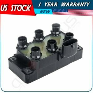 New Ignition Coil For Ford Pickup E150 E250 F150 Mustang Taurus Windstar V6