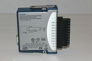National Instruments Ni 9481 4 ch Form A Electromechanical Relay Module