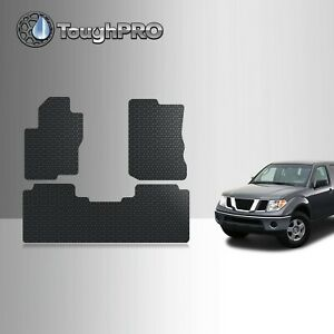 Toughpro Floor Mats Black For Nissan Frontier Crew Cab All Weather 2005 2020