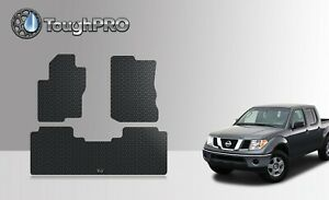 Toughpro Heavy Duty Rubber Floor Mats For 2005 2019 Nissan Frontier Crew Cab