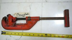 Pipe Cutter Tool 1 8 To 2 No 2t Vtg Armstrong Bros Tool Plumbing Heavy Duty
