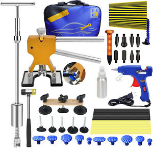 Tools Auto Body Dent Repair Kit Dent Puller Lifter Hail Damage Removel