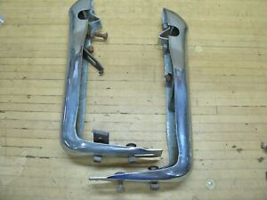 Vintage 1951 Ford Front Bumper Push Guards Car Rat Rod Car Accessory