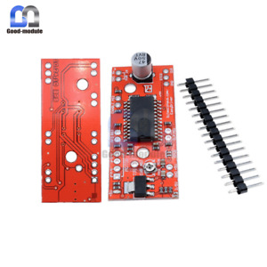 2pcs V44 A3967 Shield Microstepping Stepper Motor Driver Easy Driver For Arduino