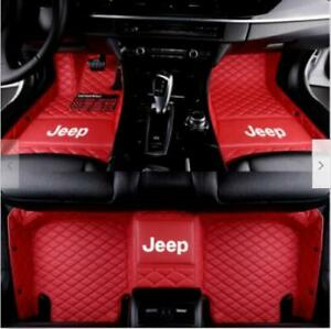 Luxury Custom Car Floor Mats For Jeep Wrangler 2008 2020 4 door 2 door