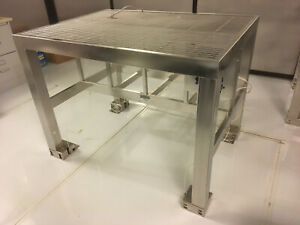 Vibration Isolation Table By Nta Non Mag Stainless Steel Throughout No Paypal
