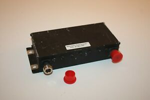 Microwave Filter Co 15564 Uhf Bandpass Filter 915 Mhz Center 38 Mhz Pass Band