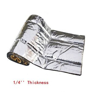 10sqft Vehicle Truck Innsulation Sound Deadner Heat Shield Noise Dampening Mats