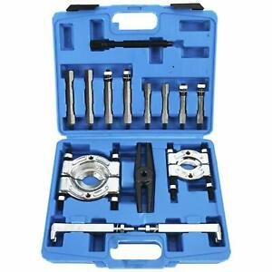 14pcs Bearing Separator Puller Set 2 And 3 Splitters Remover And Bearing Kit
