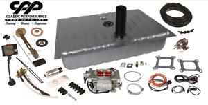 1967 68 Ford Mustang Fitech 30003 Efi Fuel Injection Gas Tank Fi Conversion Kit
