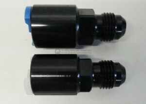Lt1 Lt4 Ls1 Lq4 Lq9 Fuel Rail Adapter Fittings Feed Return An6 Push On Black Set