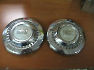Pontiac Poverty Hubcaps 1955 1956 1957