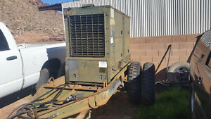 Military Generator 60kwh Generator With Trailer Mep 006a